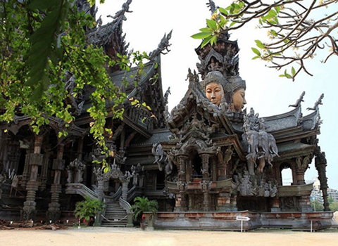 The Sanctuary of Truth ticket,E-Ticket,The Sanctuary of Truth located,The Sanctuary of Truth tour,The Sanctuary of Truth in Pattaya,The Sanctuary of Truth timing,The Sanctuary of Truth history,temple of Thailand,