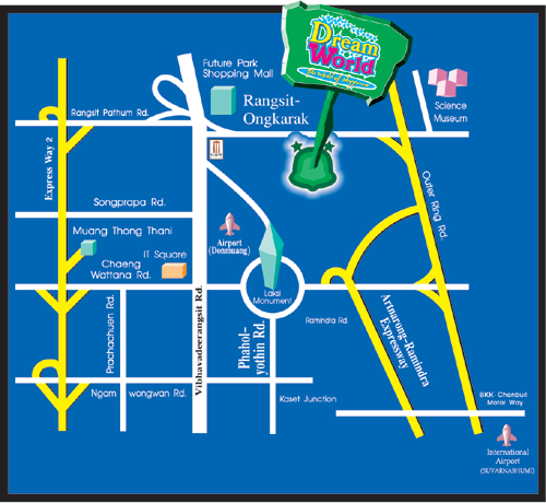 How to get to Bangkok Dream World 2015,Bangkok Dream World map,Bangkok Dream World traffic,Bangkok Dream World location,Bangkok Dream World address,Bangkok Dream World E-Ticket,Bangkok bus routes,Bangkok Dream World
