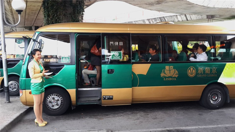 grand casino bus