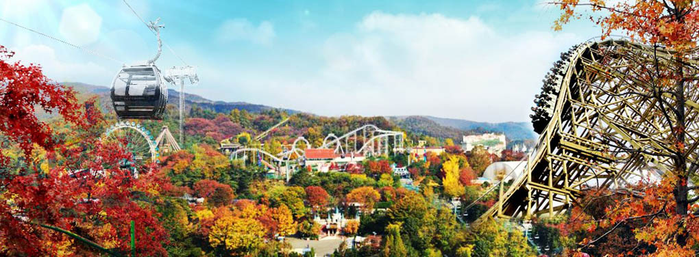 everland theme park korea hulutrip,everland package hulutrip,everland roller coaster hulutrip