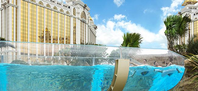 Galaxy Macau Grand Resort Deck Water Park Macau Festival Hulutrip