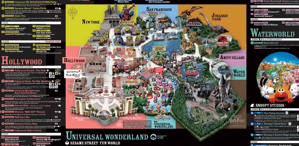 Universal Studio Japan Express Passuniversal Studio Japan - Japan map 2017