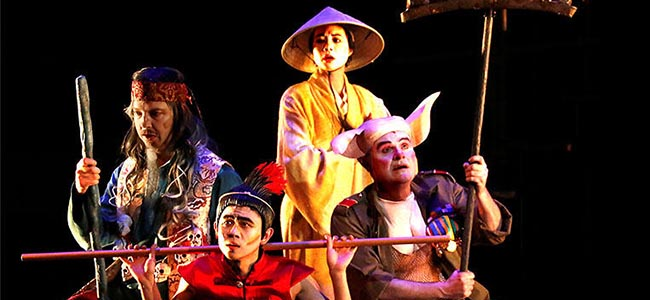 First Show of Monkey King Presents in Sands Cotai Central Macau, Monkey King in Macau, Monkey King Musical Macau, Monkey King Opera Macau, Monkey King Drama 2017 Macau, Monkey King Musical Time