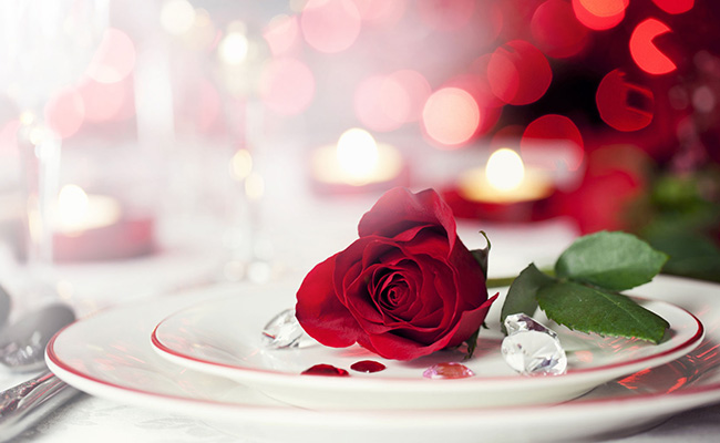 Romantic Valentine French Dining At Market Bistro The