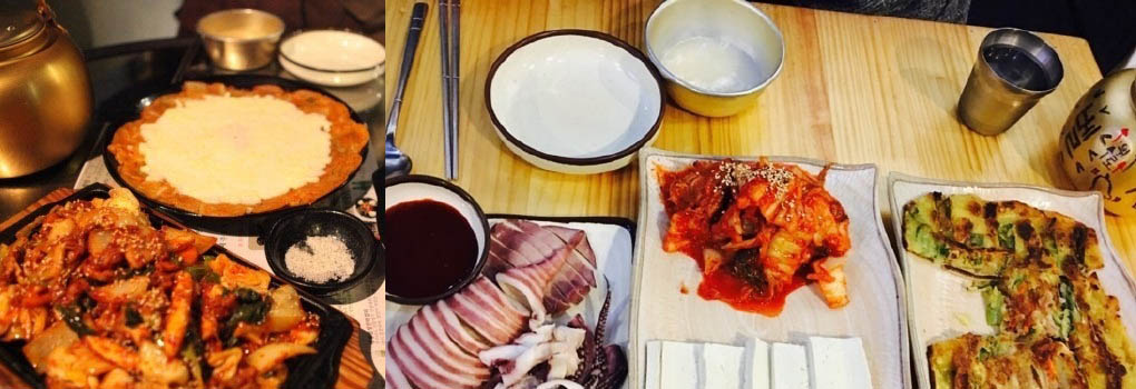 Set Meal at Saemteo Odo Makgeolli,Samdo Odo Makgeolli Sinchon Coupon,Makgeolli Sinchon Bar,Best Makgeolli Seoul South Korea