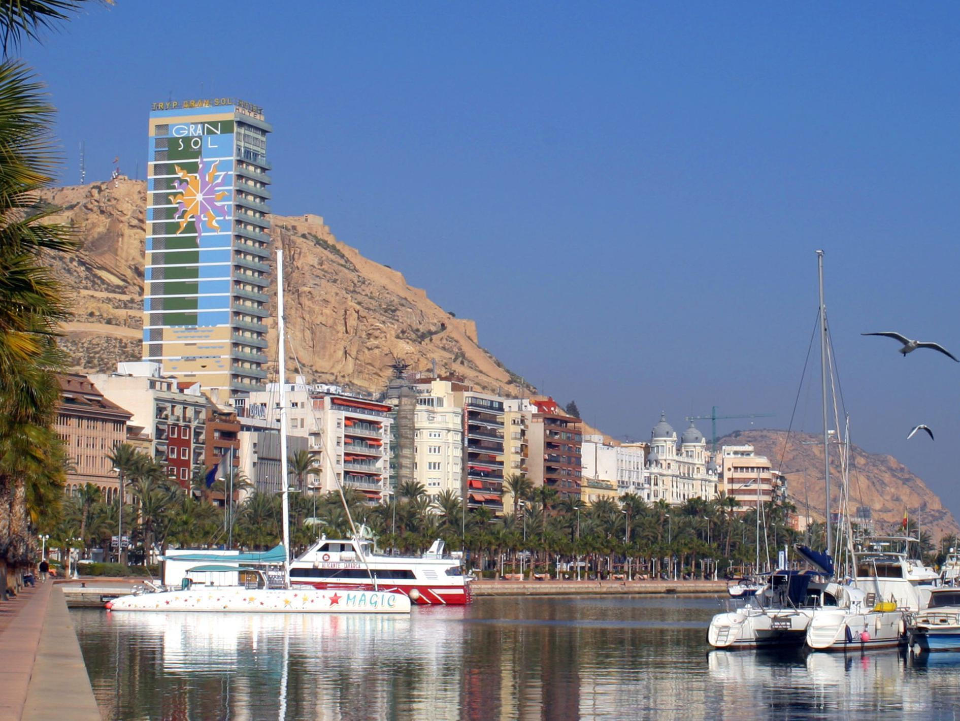 Испания гостиницы аликанте