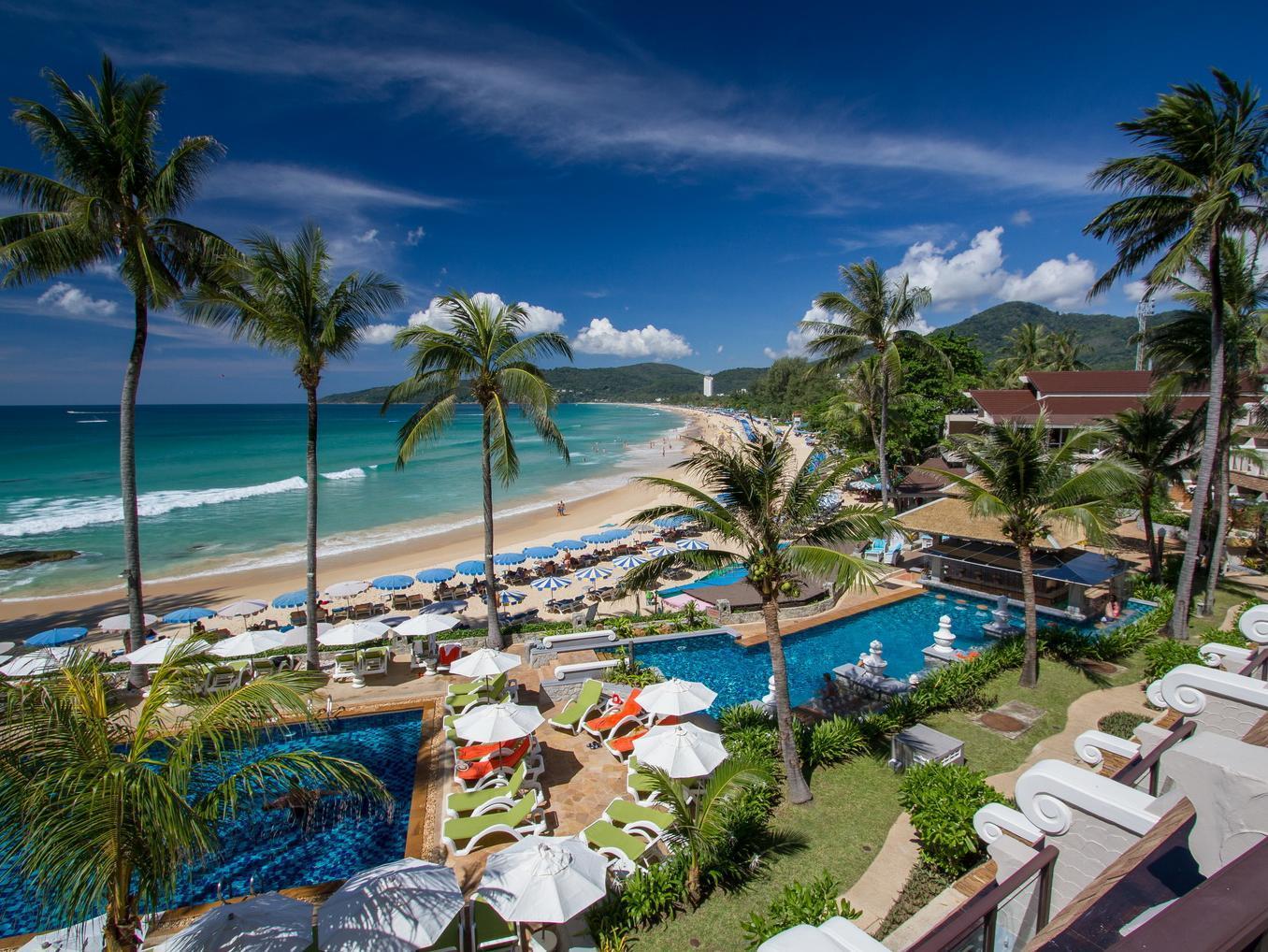 Фото отелей на пляже карон пхукет