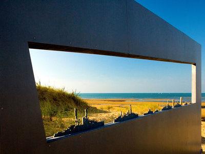 Memorial at the Juno Beach Centre in Courseulles-sur-Mer, France (© David Jones/Alamy)