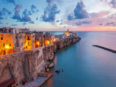 Vieste on the Adriatic coast of Italy (© Peter Adams Photography Ltd/Alamy)