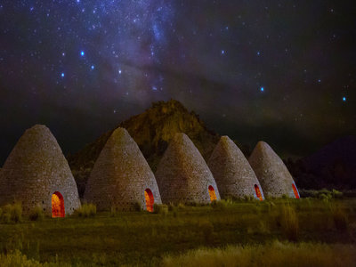 Ward Charcoal Ovens State Historic Park in Nevada (© Royce''s Nightscapes/500px)