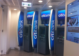 Citibank Atm In Hong Kong International Airport